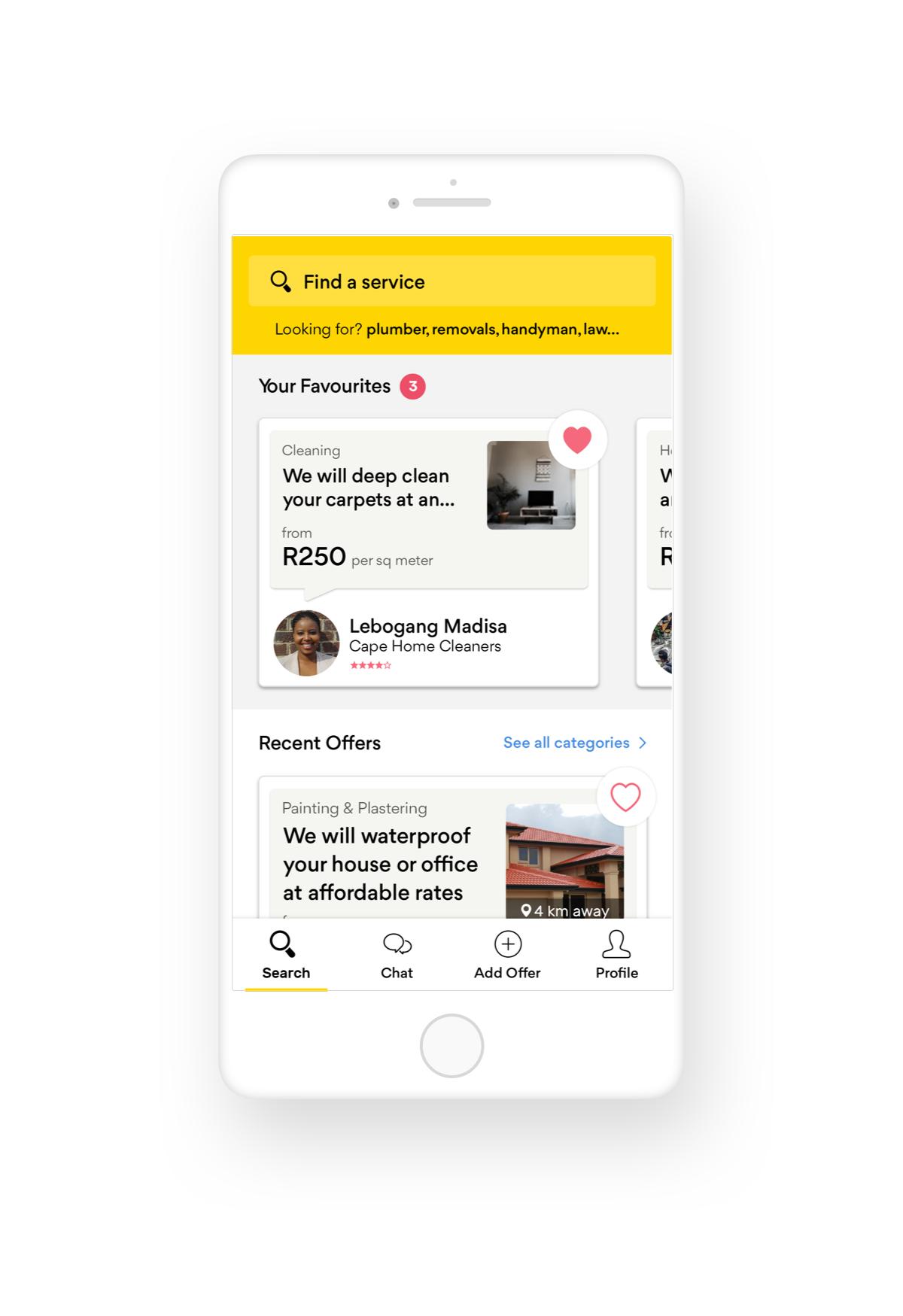 The Yellow Pages App